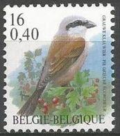 Belgium - 2000 Shrike MNH **    Sc 1790 - Unused Stamps