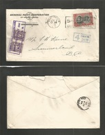Canada. 1939 (5 June) Vancouver, BC - Summerland. General Paint Corp Fkd Envelope + Taxed + Arrival P. Due, Tied Very Ni - Canada
