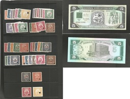 Liberia. 1930s/90s. Revenue Stamp Selection + Banknote. Specimen Type Values To 1, 2, 5 And 10$. Officials. Total 46 Ite - Liberia