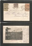 Dutch Indies. 1903 (19 Nov) Medan - Spain, Canary Islands, Orotava, Atlantic Ocean Islands. Addressed To Felix Ascanio P - Nederlands-Indië
