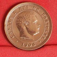 PORTUGAL 5 REIS 1906 -    KM# 530 - (Nº19906) - Portugal