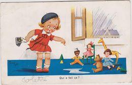 Illustateur  :  Enfant  Avec  Ses   Jouets ( Jim Patt) - Illustrateurs & Photographes