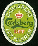 SO Etikett - Bier, Carlsberg Let Pilsner - Beer