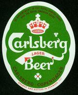 SO Etikett - Bier, Carlsberg Lager Beer - Cerveza