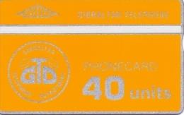 GIBRALTAR PHONECARD -GIB-01, 9600pcs-1/90-MINT(FIRST CARD IN GIBRALTAR) - Gibraltar