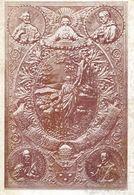 Sujet En Métal Repoussé Ornant La Couverture D'un Buvard Offert à Sa Sainteté Pie XI Le 29 Octobre 1924 - Christianisme