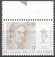 Belgium - 2000 Prince's Foundation MNH **    Sc 1807 - Unused Stamps