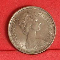 GREAT BRITAIN 5 PENCE 1970 -    KM# 911 - (Nº19918) - 1971-… : Decimal Coins