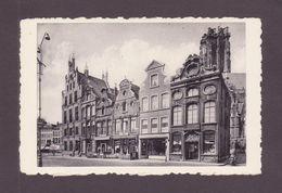 MECHELEN -  Grote Markt , Oude Huizen En Telegraafkantoor - Malines