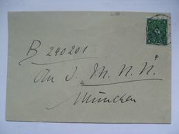 GERMANY - Inflation Cover 4M Rate - November 1922 - Briefe U. Dokumente