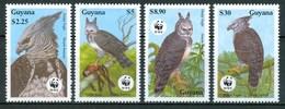 1990 Guiana Guyana Aquile Eagles Aigles Uccelli Birds Vogel Oiseaux Set MNH** A79 - Guiana (1966-...)