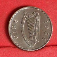 IRELAND 6 PENCE 1964 -    KM# 13a - (Nº19924) - Ireland