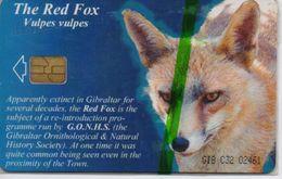 GIBRALTAR PHONECARD FOX-GIB-C32 , 3000pcs-1/01-MINT/SEALED - Gibraltar