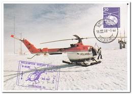 "Kaapstad 1988, Polarhelicopter From Ship ""Polarstern"" - Poolshepen & Ijsbrekers"