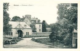 """094/26 - CANTONS DE L'EST - ASTENET Carte-Vue Chateau """"Thor"""" - Une Automobile à L'avant - Lontzen"""