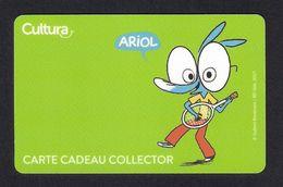 Carte Cadeau Collector.  Gift Card.  CULTURA.   ARIOL BD. - Gift Cards