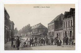 - CPA LILLERS (62) - Rue De Pernes (belle Animation) - Edition J. Poriche - - Lillers