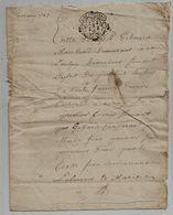Jugement, POITIERS ,1747 , 4 Pages , 2 Scans  Frais Fr : 1.95e - Sin Clasificación