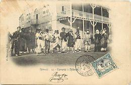 Pays Div-ref K838- Djibouti - Carnaval -/ Legeres Taches Haut Gauche De La Carte  - - Djibouti