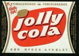 SO Etikett - Jolly Cola - Labels