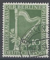 Berlin U 058 (o) Usado. 1950 - [5] Berlin