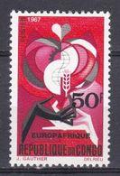 Congo - 1967 - N°Yv. 212 - Europafrique N* MH - Congo - Brazzaville