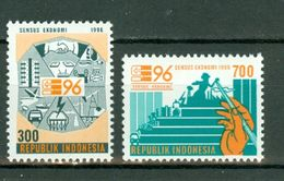 Indonesia 1996  ZB 1669/70**, Yv. 1436/37** MNH - Indonésie
