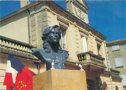Puylaurens - Berceau Occitan De La Marianne Républicaine ,Buste Du Bicentenaire  V1020 - Puylaurens