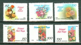 Indonesia 1996  ZB 1673/75**, 1688/90**, Yv. 1442/44**, 1456/58** MNH - Indonésie