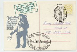 ESTONIA 1992 Commemorative Card And Postmark Founding Of Tartu University. - Estonia