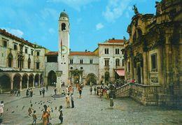 DUBROVNIK - Le Palais Sponza Et L'Eglise Saint Vlaho - Croatia