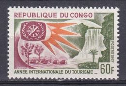 Congo - 1967 - N°Yv.211 . Année Du Tourisme N* MH - Congo - Brazzaville