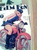 MOTO MOTOCYCLETTE PIN UP SEXY FILM FUN REPRO MANIFESTO ANNI 40  N1995 GM20698 - Pin-Ups
