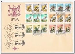 SWA 1978, Cacti, Overprint - Postzegels
