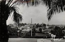 Pays Div-ref K831-cameroun - Yaoundé - Le Centre Commercial Vu De La Mairie - Carte Bon Etat  - - Cameroun