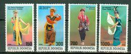 Indonesia 1996  ZB 1749/52**,  Yv. 1498/1501** MNH - Indonésie