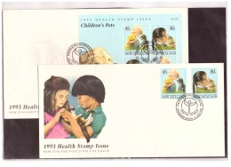 NZFDC138   -   WANGANUI   21.7.1993    /    FDC     YT Nr.  1239/1240 + BF. 87 - FDC