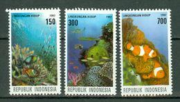Indonesia 1997  ZB 1775/77**,  Yv. 1518/20** MNH - Indonésie