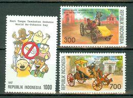 Indonesia 1997  ZB 1774**, 1779/80**,  Yv. 1526**, 1527/28** MNH - Indonésie