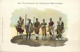 Pays Div-ref K826- Afrique Du Sud - South Africa - Le Transvaal Et L Afrique Sauvage - Carte Bon Etat - - South Africa