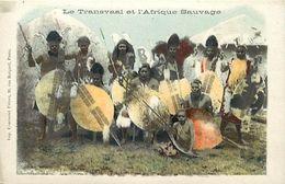 Pays Div-ref K825- Afrique Du Sud - South Africa - Le Transvaal Et L Afrique Sauvage - Carte Bon Etat - - South Africa