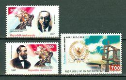 Indonesia 1997  ZB 1798/99**, 1800**,  Yv. 1537/38**, 1539** MNH - Indonésie