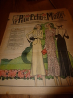 1931 LPEDLM :(Le Petit Echo De La Mode) Broderies De Scènes Champêtres; Etc - Libri, Riviste, Fumetti