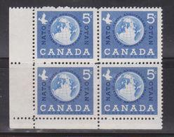 CANADA Scott # 384 MNH - World Peace - 1952-.... Reign Of Elizabeth II