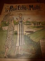 1931 LPEDLM :(Le Petit Echo De La Mode) ---> Les BAUX De PROVENCE De Mistral Et De Mireille; Parure élégante;etc - Libri, Riviste, Fumetti