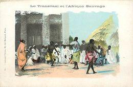 Pays Div-ref K819- Afrique Du Sud - South Africa - Le Transvaal Et L Afrique Sauvage - Carte Bon Etat - - South Africa