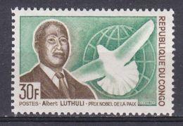 Congo - 1968 - N°Yv. 217 - Albert Luthuli N* MH - Congo - Brazzaville
