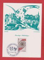 Carte Premier Jour  / Jumelage Philatélique Dinard Starnberg  / Dinard  / 3-4-1983/ N 885 - Cartes-Maximum