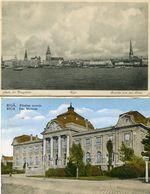 LETTONIE(RIGA) 2 CARTES - Lettonie