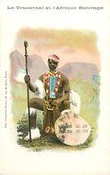 Pays Div-ref K792- Afrique Du Sud - South Africa - Le Transvaal Et L Afrique Sauvage - Carte Bon Etat - - South Africa